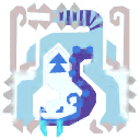 File:MHXR-Frozen Barioth Icon.png