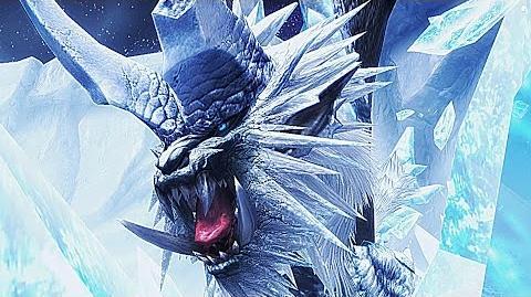 【MHF-G】氷の始種、凍王龍『トア・テスカトラ』討伐!【原始の極海を知る者】フルHD