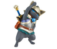 Capcom Figure Builder Palicoes Volume 3 Alloy Cat