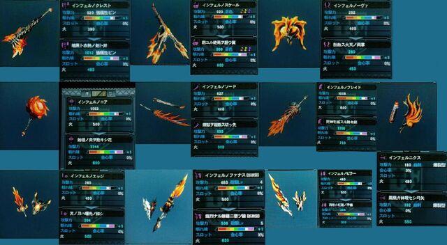 File:Guran-Miraosu Blademaster Weapons.jpg
