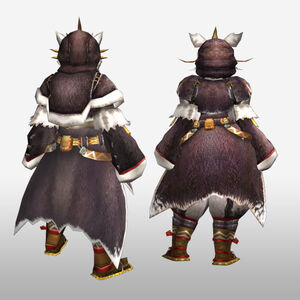 FrontierGen-Pokara G Armor (Blademaster) (Back) Render