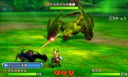 MHST-Green Nargacuga and Nargacuga Screenshot 002