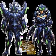 MH3U Brachydios Armor Blade