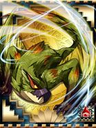 MHCM-Green Nargacuga Card 001