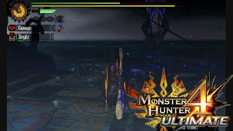 Monster Hunter 4 Ultimate - Attack at Sea - Gore Magala