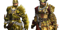 Golden Moon Z Armor (Gunner)