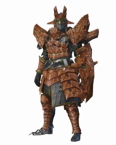 File:MHO-Sandstone Basarios Armor (Gunner) (Male) Render 001.jpg