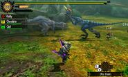MH4U-Great Jaggi and Velocidrome Screenshot 001