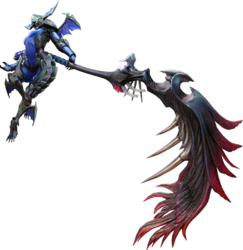 MH4U-Long Sword Equipment Render 003