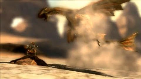 3DS Monster Hunter 4 Ultimate -Cephadrome Intro-