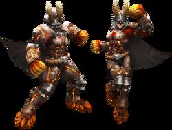FrontierGen-Von Armor (Blademaster) Render 2