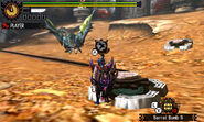 MH4U-Azure Rathalos Screenshot 012