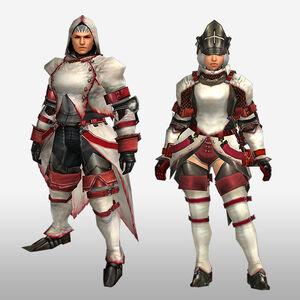 FrontierGen-Furufuru G Armor (Blademaster) (Front) Render