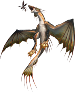 2ndGen-Plesioth and Vespoid Render 001