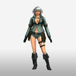 FrontierGen-Lady Armor 008 (Female) (Both) (Front) Render
