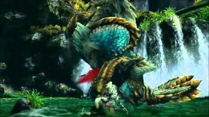 PSP『モンスターハンターポータブル 3rd』プロモーション映像3