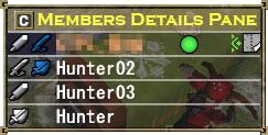 Members Details Window