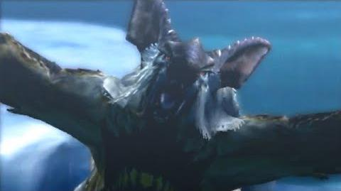 3DS Monster Hunter 4 Ultimate -Lagombi Intro-