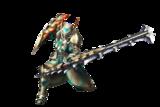MH3U-Sword and Shield Equipment Render 001