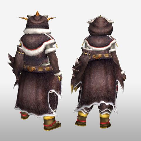 File:FrontierGen-Pokara G Armor (Gunner) (Back) Render.jpg