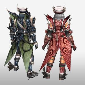 FrontierGen-Riodeyuo Armor (Both) (Back) Render