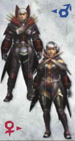 MH3U Gigginox Armor (Blade)