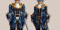 Blue Star Armor (Blademaster) (MH4)
