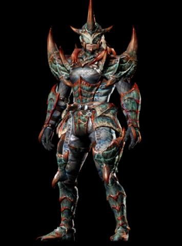 File:MHO-Baelidae Armor (Blademaster) (Male) Render 001.png