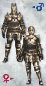 MH3U Ingot Armor (Blade)