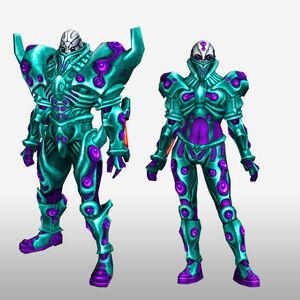 FrontierGen-Genome Armor 005 (Both) (Front) Render