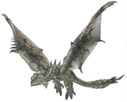 FrontierGen-Silver Rathalos Render 001 (Edited)