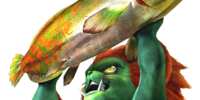 F Blanka Fish (MH4U)