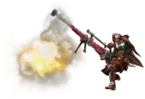 MH3U-Heavy Bowgun Equipment Render 001