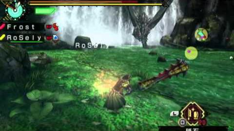 Monster Hunter Portable 3rd HD Gold Rathian & Silver Rathalos