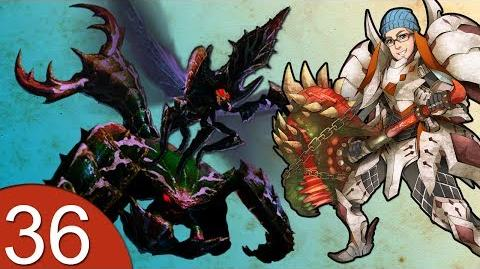 Monster Hunter 4 Nubcakes 36 - FERAL Generu Serutasu & Aruserutasu English online gameplay