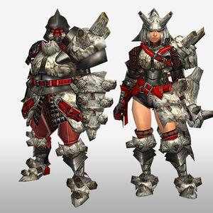 FrontierGen-Gurabido G Armor (Gunner) (Front) Render