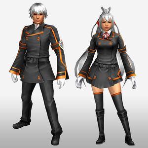 FrontierGen-IS Academy Armor 001 (Both) (Front) Render