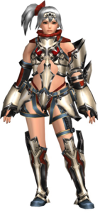 FrontierGen-Perifu Armor (Female) (Both) (Front) Render 004