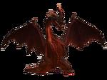 1stGen and 2ndGen-Crimson Fatalis Render 001