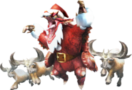 MHXR-Christmas Volvidon and Anteka Render 001