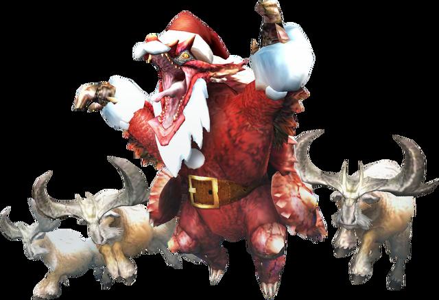 File:MHXR-Christmas Volvidon and Anteka Render 001.png