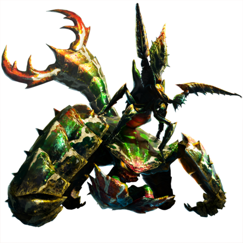 File:MH4-Seltas Queen and Seltas Render 001.png