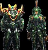 MH4U-Seltas Armor (Blademaster) Render 001
