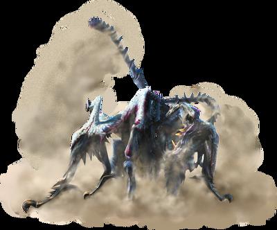 MH4U-Shrouded Nerscylla Render 001