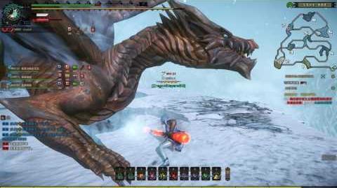 Monster Hunter Online Long Sword - Rusted Kushala Daora 锈钢龙 (HR Elite 4 王立精英 4)