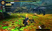 MH4U-Deviljho and Yian Garuga Screenshot 001