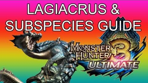 Monster Hunter 3 Ultimate - G2★ Lagiacrus & White Land guide ラギアクルス亜種-1