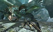 MH4U-Azure Rathalos Screenshot 004