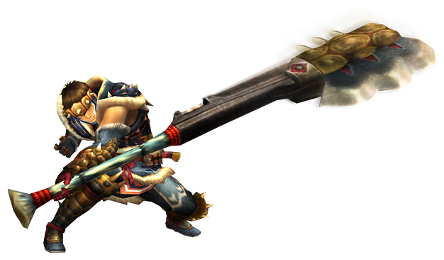 File:MHP3-Switch Axe Equipment Render 001.png