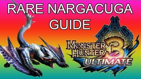 Monster Hunter 3 Ultimate - G3★ Rare Nargacuga guide ナルガクルガ希少種-0